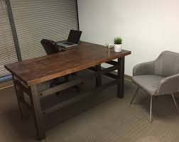 fascinating industrial office desk fantastic home interior design ideas amusing double office desk