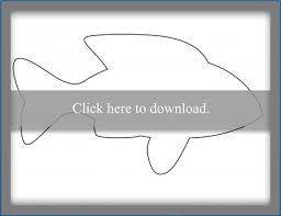 Printable Fish Template Lovetoknow