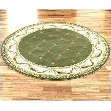 9 sizes fluffy round rug carpets