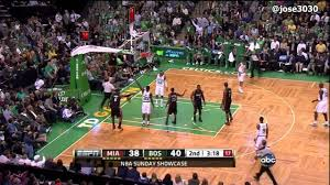 Avery Bradley Blocks Dwyane Wade - Heat ...
