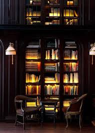 home library lighting. Contemporary Lighting Love The Lighting And These Black Bookcases So Rich Inviting The  Virtual Builder In Home Library Lighting L