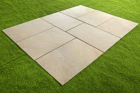 Quartzite White Porcelain Paving - 600x900x20mm