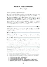 Business Proposal Template Beauteous Proposal Plan Template Saunaweb