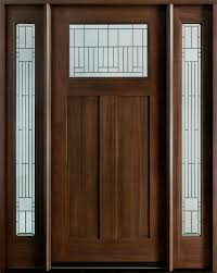 Front Door With Sidelights And Arched Transom Custom Mahogany