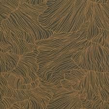 Behang Coral Donker Groen Goud 53x1000cm In 2019 Toilet Artwork