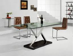 modern metal furniture contemporary-dining-room