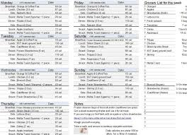 7 day workout plan at home awesome 992 best menu plans to lose weight images on