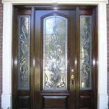 leaded glass exterior doors trditionl estte leded glss stained for leaded glass exterior doors