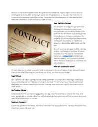 Things To Check Before Signing Your Vacation Rental Contract