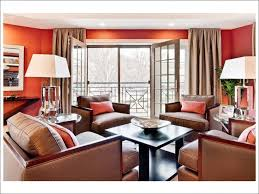 kitchen themes in orange and brown for the living room e