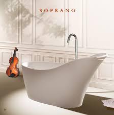 virta soprano free standing stone bathtub