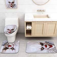 Horror Movies It Pennywise Designed Bathroom Sets Designbytrex