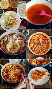 Rabokki Ramen Tteokbokki Recipe Korea Food Souvenirs