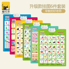 Baby Learning Chart Usd 8 02 Sound Wall Chart Upgrade Baby Early Learning Voice