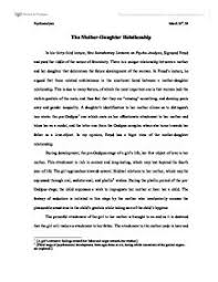 essay relationship between mother daughter the relationship between and mother and daughter uk essays