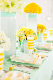 The Perfect Palette: Wedding Colors | Mint + Yellow http://www.