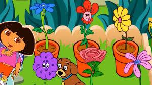 dora the explorer s magical garden games for kids