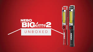 Big Larry Work Light Reviews Nebo Unboxed The Big Larry 2 500 Lumen Work Light And Flashlight