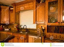 Luxury Kitchen Organized Luxury Kitchen Stock Photos Image 5844933