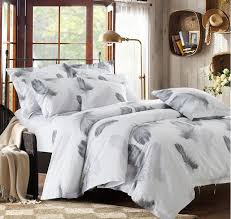 white bed sheets. Black And White Bedding Set Feather Duvet Cover Queen King Size Full Twin Double Bed Sheets E