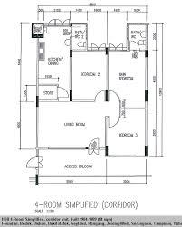 two full size toilets sample floor plan