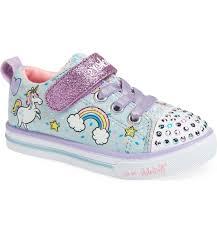 Skechers Light Up Unicorn Shoes Twinkle Toes Unicorn Light Up Sneaker Main Color Light