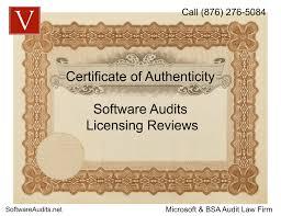 Legal Microsoft Certificate Of Authenticity Vondran Legal
