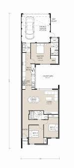 home outstanding narrow lot house plans perth rear garage designs best of floor wonderful side split
