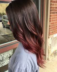 57 Hottest Red Balayage Hair Color