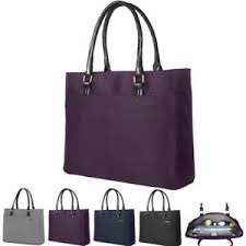 DTBG <b>15.6Inch</b> Women Shoulder Tote <b>Bag</b> Nylon <b>Briefcase</b> Casual ...