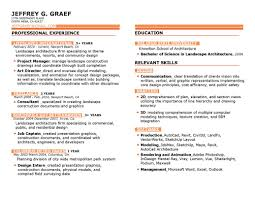 Resume Landscape Architect Great Landscape Architect Resume Cover Letter Pictures Inspiration 5
