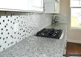 elegant white glass tile ideas gray brick flooring tiles grey grout kitchen