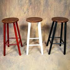 round wooden stool retro simple wood tall bar stools restaurant round intended for wooden plans wooden