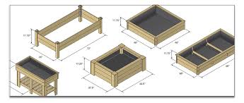 Small Picture Gorgeous Raised Garden Bed Blueprints Raised Garden Bed Design