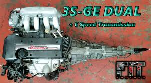 Toyota Dual beams engine 3SGE with 6speed for sale at FIT Engines ...