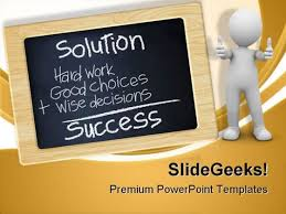 Chalkboard Ppt Theme Chalkboard Success Powerpoint Themes And Powerpoint Slides 0711