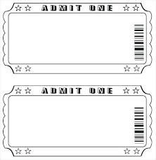 Movie Night Ticket Birthday Invitations 30132315006701 Free