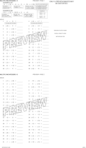 Integer Worksheets by Math CrushPreview · Print · Answers