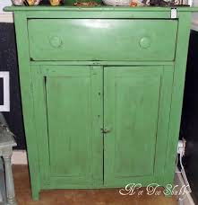 painted green furniture. annie sloan chalk paint antibes green farmeru0027s cabinet painted furniture a