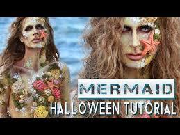 13 37 mermaid siren costume makeup tutorial
