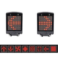JAEHEV Bicycle LED Light Road <b>Bike Safety Warning Turn</b> Signals ...