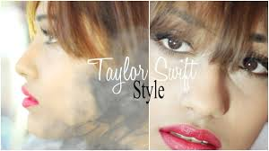 tutorial taylor swift style official video makeup tutorial clic red lipstick you