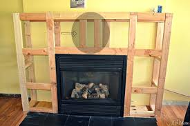 build a fireplace amazing how to build electric fireplace surround on best interior with how to