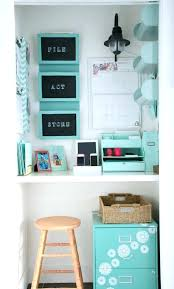 home office in a closet. Small Office Organization Ideas Chic Closet Best Home On In A S