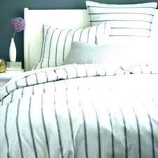 d ticking stripe duvet grey cover uk