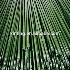 bamboo garden stakes. Metal Garden Stakes Artificial Bamboo Steel For Plant Support Lowes .