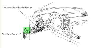 where is the relay located on a 1999 toyota camry my turn signals 2002 toyota camry fuse box diagram at Toyota Camry Fuse Box Location