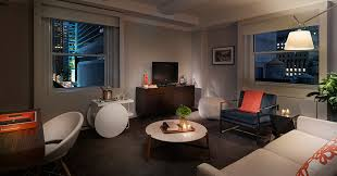 Delightful ... Amazing Ideas One Bedroom Suites NYC Paramount Hotel Suite Two In New  York City Best ...