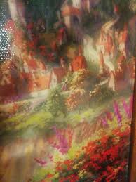 Thomas kinkade disney tangled custom framed art. Thomas Kinkade Disney Dream Collection Easter Eggs Home Facebook