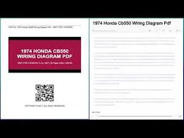 1974 honda cb550 wiring diagram pdf youtube 1976 honda cb550 wiring diagram Honda Cb550 Wiring Diagram #22